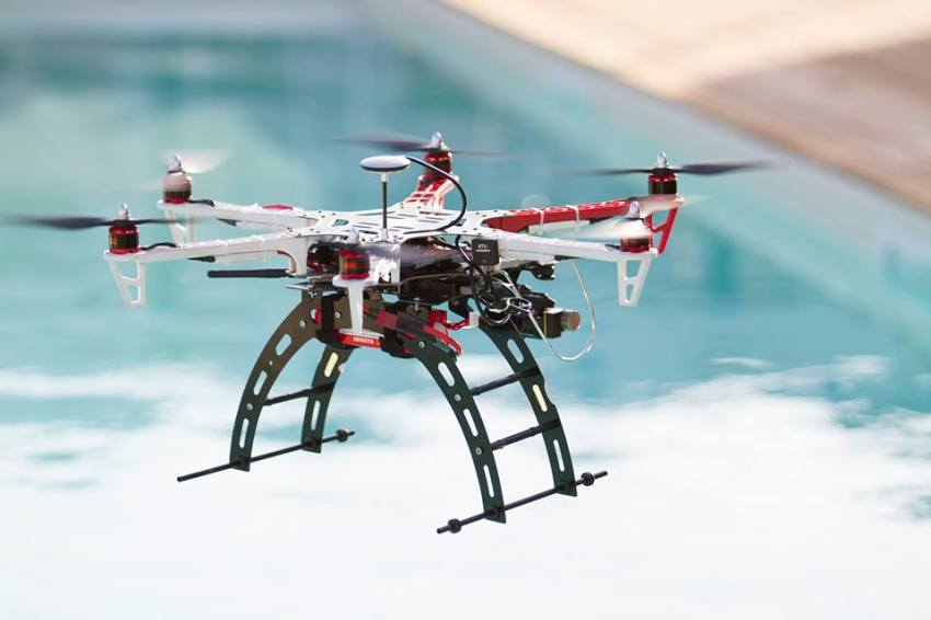 Drone di Crazy Drone immagine tratta dal sito https://www.facebook.com/crazydrone