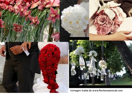 Decorazioni floreali - immagini tratte da http://www.fioritomasnovak.com/