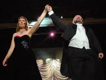 Sara Pretegiani e Giovanni battista Palmieri a Verona in Love