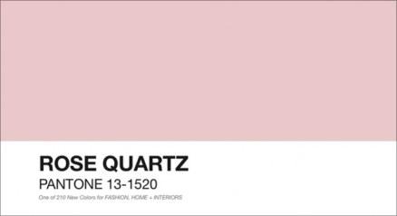 Rosa Quarzo - foto via pantone.com