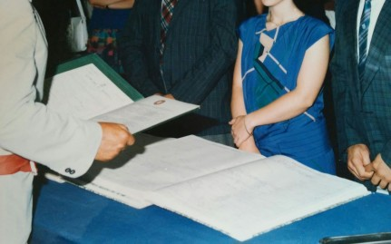 Matrimonio anni '80 Nunzia e Mosè