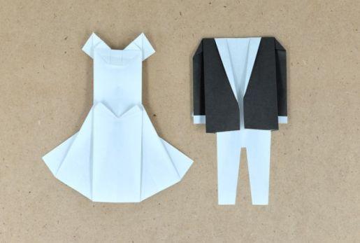 Origami Wedding - foto via pinkblog.it