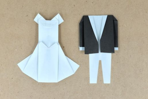 Origami Wedding - foto via pinkblog.it