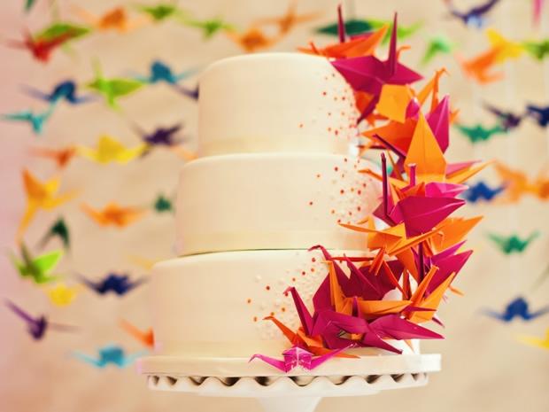 Origami Wedding - foto via soglosweddings.com