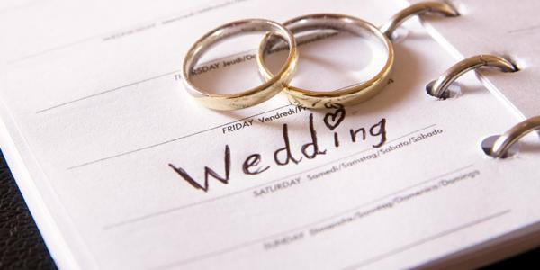 Superstizione e matrimonio - foto via www.trattorosa.it
