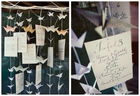 Origami Wedding - foto via vitadicoppia.blogosfere.it