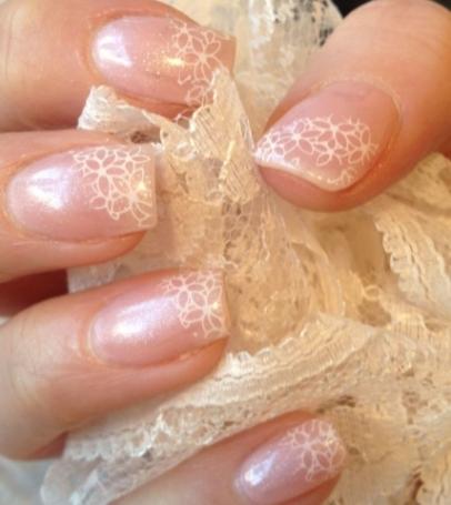 Unghie sposa idee - foto via www.beautytester.it