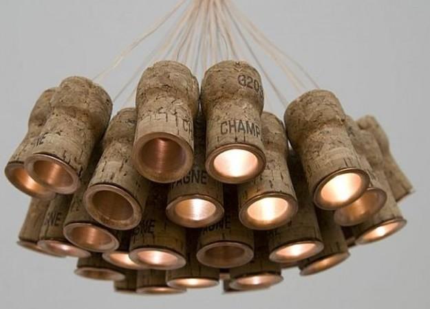 Decorazioni in sughero - foto via www.nonsprecare.it