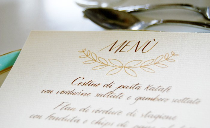 Calligrafia e wedding - foto via www.letterslovelife.com