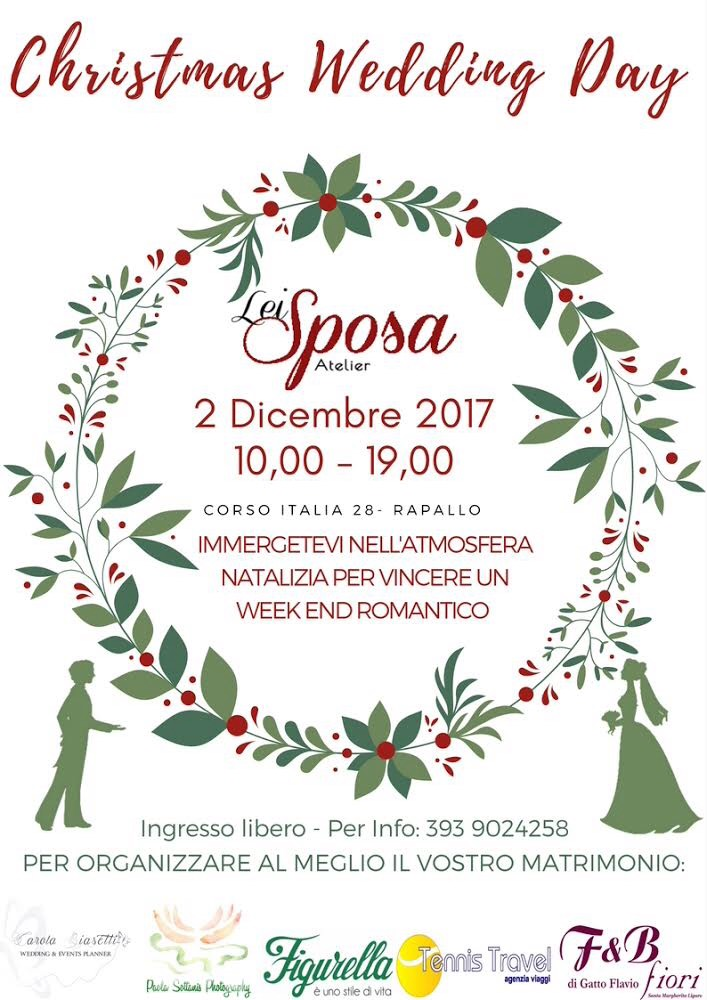 Christmas Wedding Day - eSse di Sposa