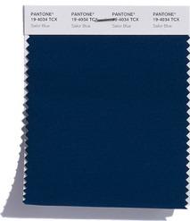SAILOR BLUE PANTONE - foto via pantone.com