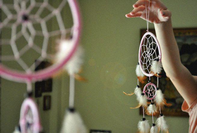 Acchiappasogni fai da te - foto via www.pinkblog.it