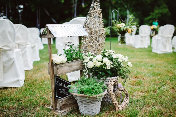 Cerimoni all'aperto - foto via www.weddingwonderland.it
