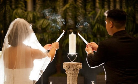 Cerimonia della luce - foto via giftsitter.com