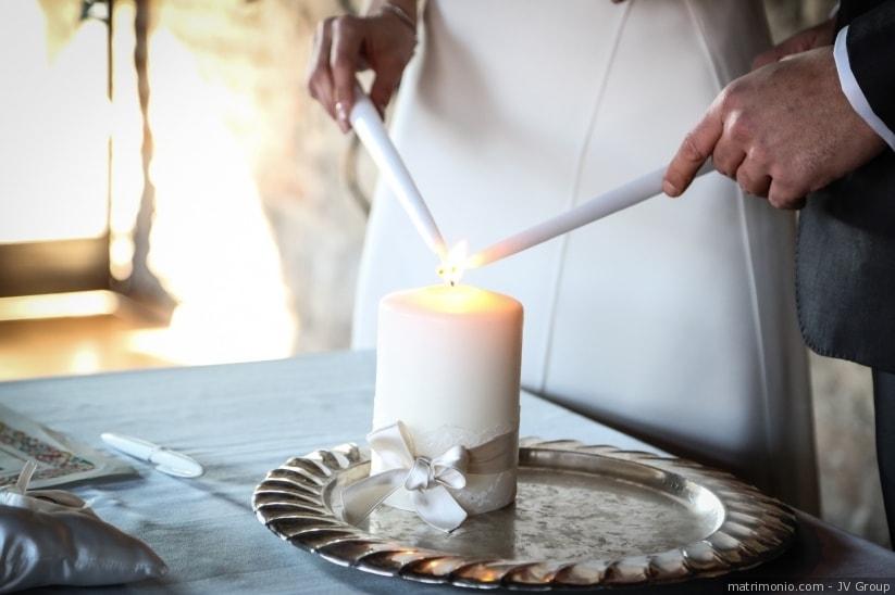 Cerimonia della luce - foto via trattorosa.it