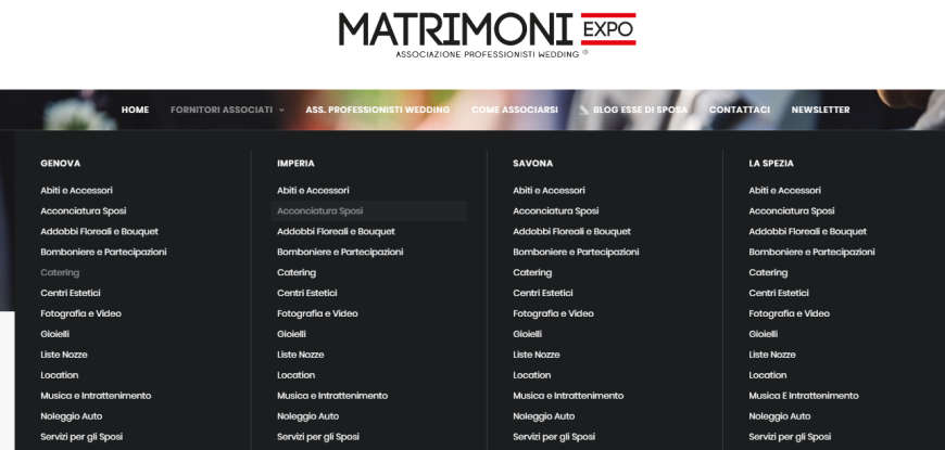 Matrimoniexpo Ass. Professionisti Wedding - foto via matrimoniexpo.it