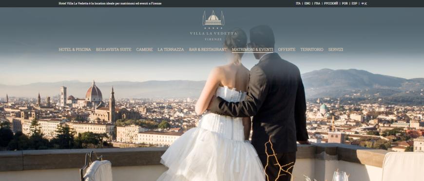 Villa Vedetta - foto via villavedettahotel.com