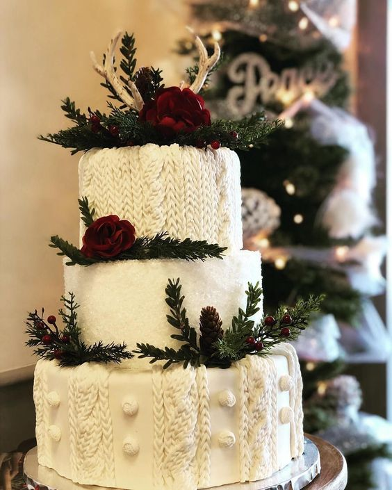 La torta di lana su eSse di Sposa - Photo by Pinterest
